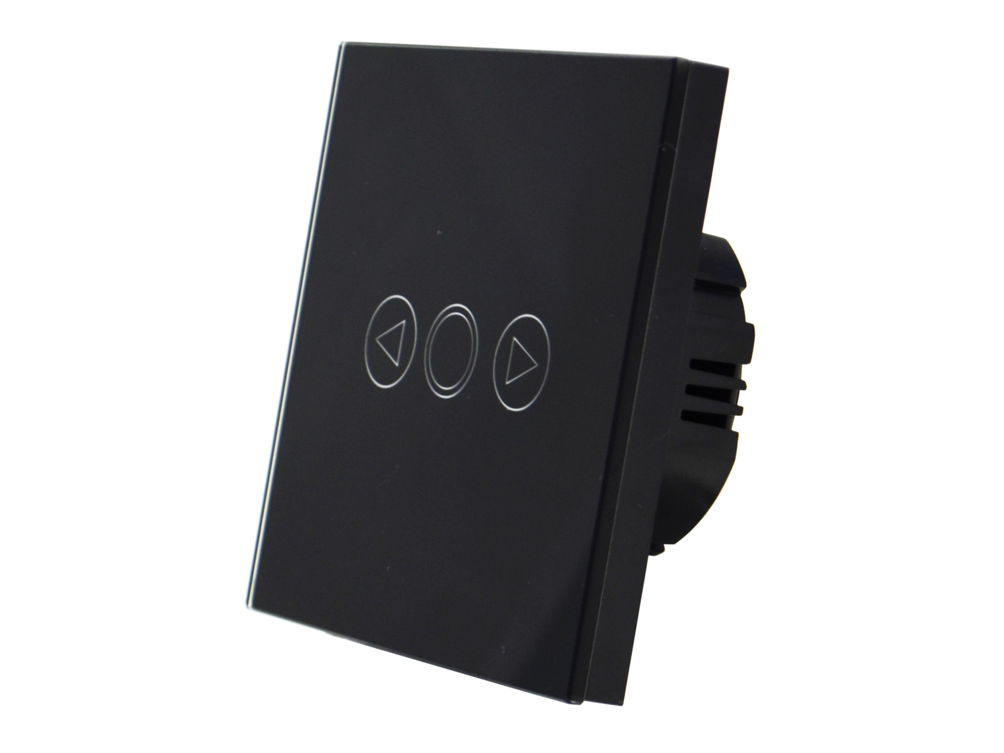Black dimmer switch