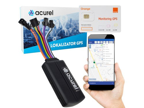GPS tracker for cars + locator server + Orange SIM card