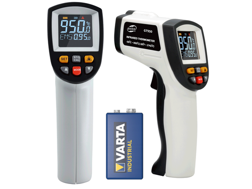 Non-contact LCD Color Pyrometer -50 to 950°C