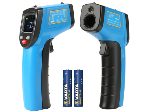 Non-contact laser thermometer -50 ~ 400°C with a color LCD
