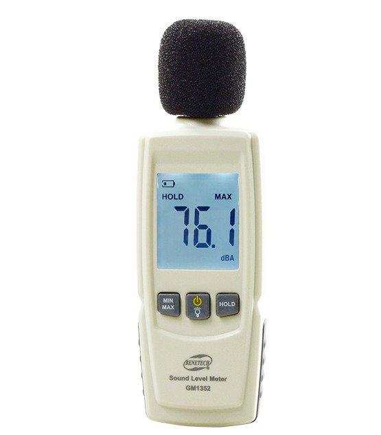 Digital Sound Level Meter Noise Measuring Instrument Decibel meter LCD -  GM21