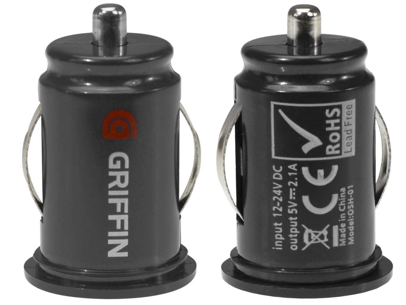 Griffin Car Charger: GRIFFIN CAR CHARGER 2X USB 2.1A - AS16