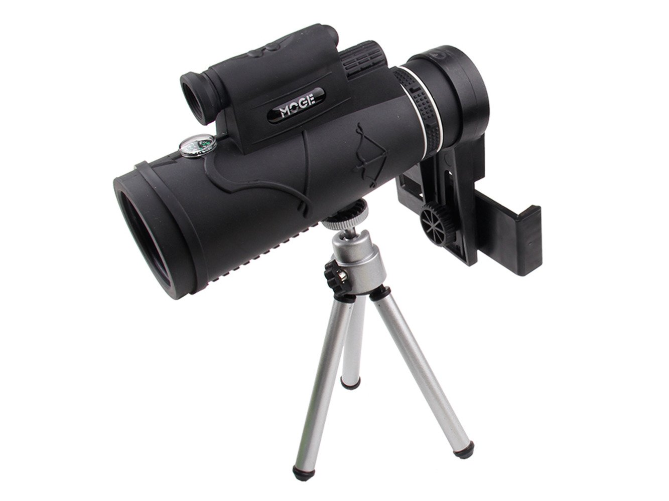 Observation telescope lens for the phone with zoom 50x60 laser