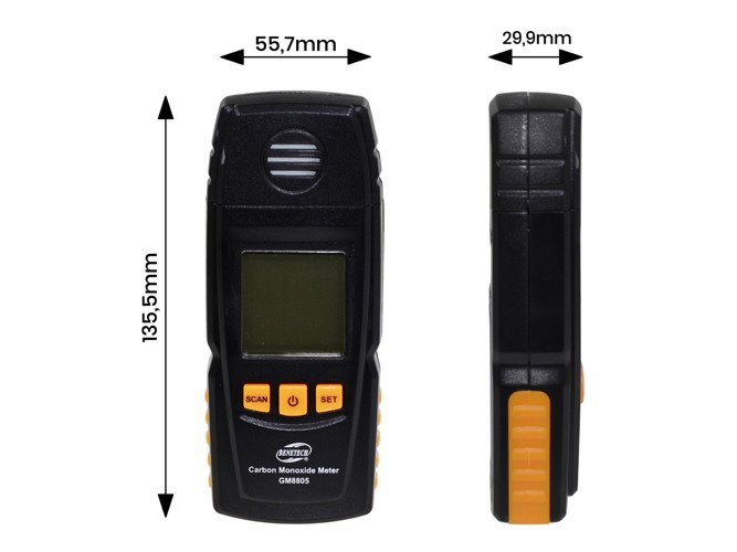 Carbon Monoxide Measurer LCD 1000PPM - GM32