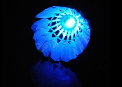 DARK NIGHT LED BADMINTON SHUTTLECOCK BIRDIES LIGHTING - LD18