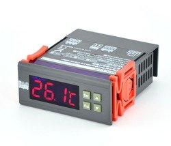 DIGITAL TEMPERATURE REGULATOR CONTROLLER THERMOSTAT CONTROL SWITCH ALARM 12V/5A - AD49