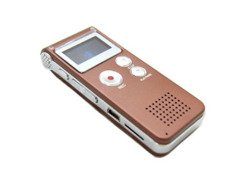 DIGITAL VOICE RECORDER DICTAPHONE MP3 FM PLAYER BLACK Micro SD USB - SP6