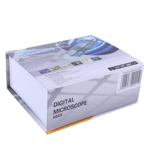 Digital microscope USB camera 8 LED 800X 2Mpx - AD71