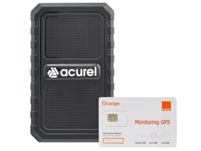 GPS tracker with a strong magnet + Orange SIM card