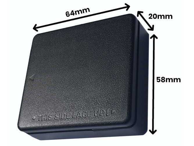 GPS tracker with a strong magnet + Play SIM card