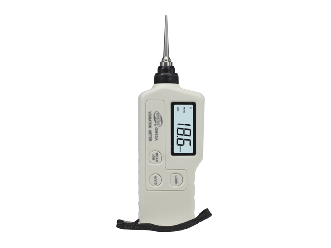 Handheld Portable LED digital vibrometer Vibration measurement meter GM30