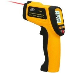 Infrared Thermometer IR -50 900°C Pyrometer 0.1~1EM Resolution 12:1 - AD63