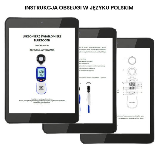 Luxmeter light meter with Bluetooth function