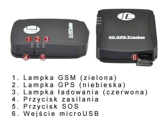 Mobile GPS tracker 3G AW20