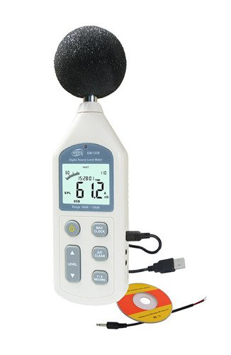 Multi-functional LCD Digital Sound Noise Level Meter With Backlight - GM16