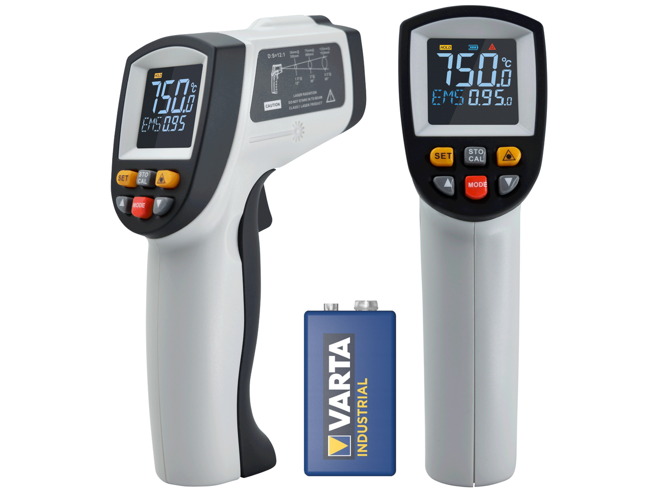 Non-contact LCD Color Pyrometer -50 to 750°C