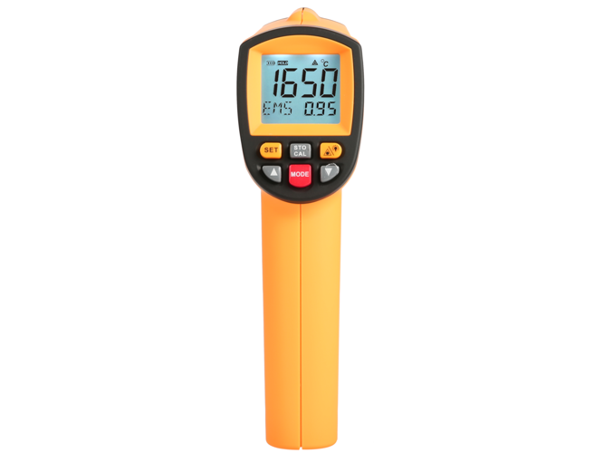 Non-contact pyrometer laser thermometer +200 ~ 1650°C
