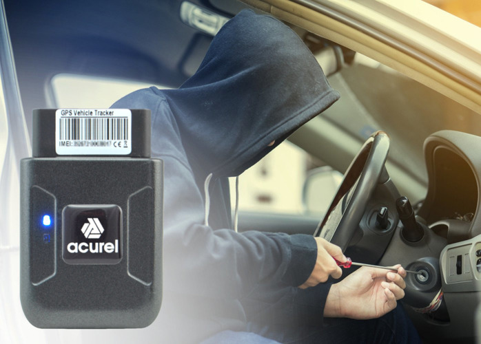 OBDII CAN OBD2 Vehicle GPS Tracker - AW14