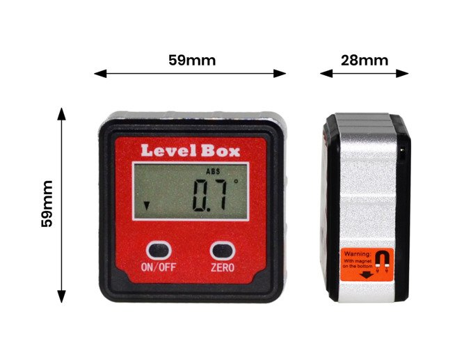 PROTRACTOR DIGITAL ELECTRONIC LEVEL MW38