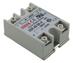 SOLID STATE RELAY SSR-40DA 40A / 3-32VDC 90-480VAC - PP5