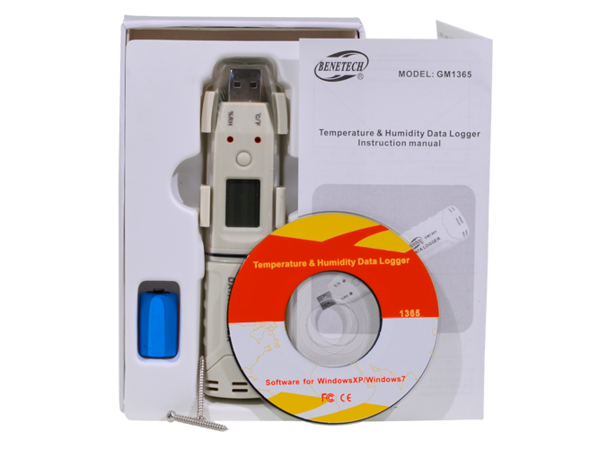 Temperature humidity USB data logger dew point- GM27