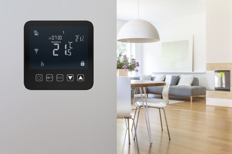 Touchscreen Thermostat 16A WiFi 24/7