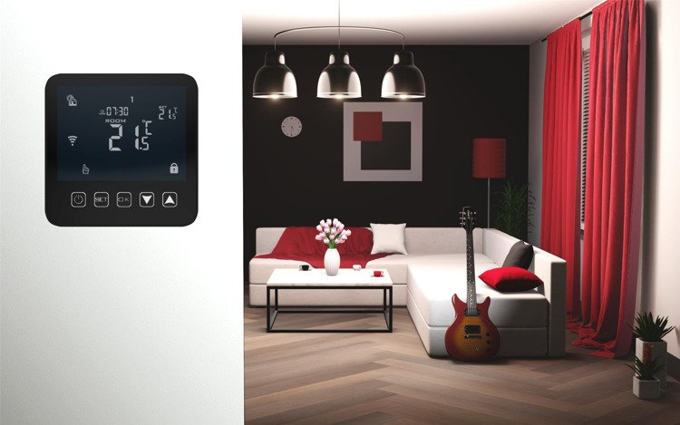 Touchscreen Thermostat 3A WiFi 24/7