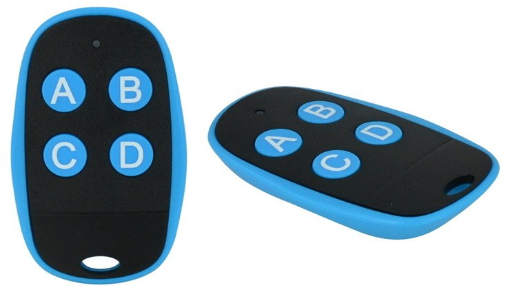Universal 4-Channel 433 MHz Remote Control in 2 Colors - KR31