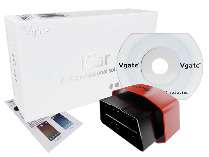 Vgate ICar3 Elm327 WIFI OBD2 Code Reader Scanner For IOS Android IPhone IPad - ID22