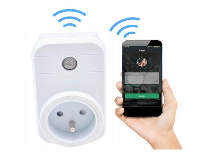 Wireless WiFi socket
