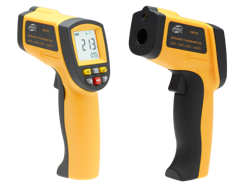 Infrared Thermometer IR -50 700°C Pyrometer 0.1~1EM Resolution 12:1 - AD61