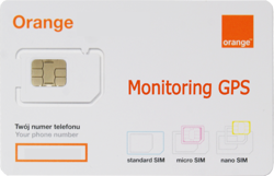 Starter Orange free 5 - monitoring GPS