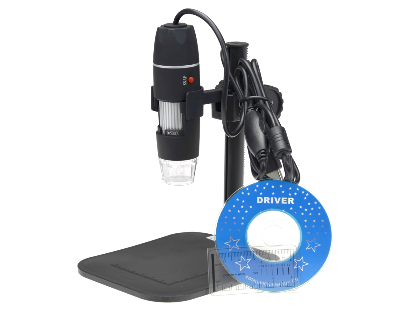 Mikroskop cyfrowy kamera usb 8 led 500x 2mpx elektronika