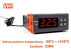 Termostat regulator temperatury 230V, 1100W